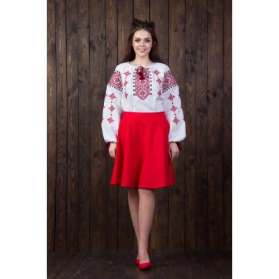 Купити. Вишита жіноча блуза з національним орнаментом (2-х кольорів) 52c6e2b745dba