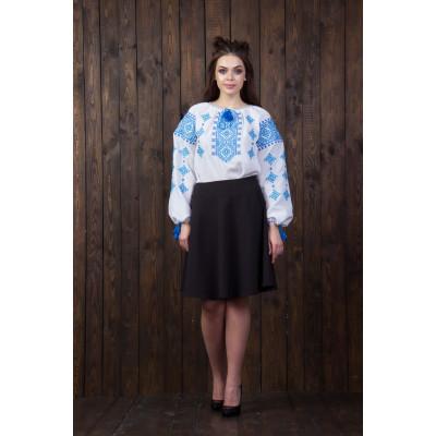 ... Вишита жіноча блуза з національним орнаментом (2-х кольорів) be18323bd86d6