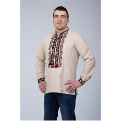 Чоловіча сорочка з національним візерунком ... ab1440272204e