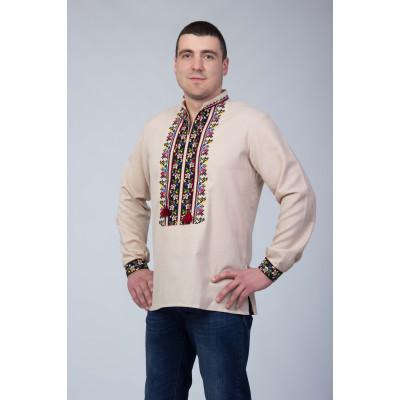 Чоловіча сорочка з національним візерунком