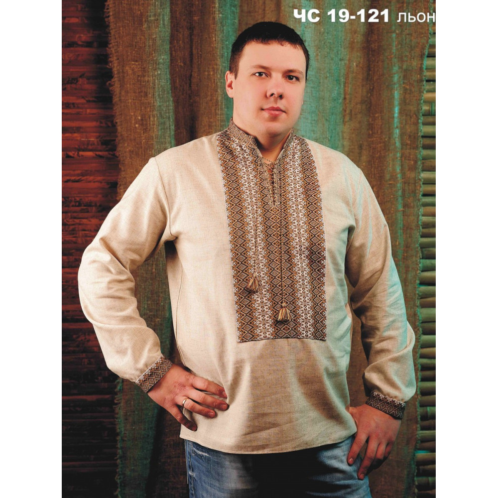 Чоловіча вишита сорочка лляна - від виробника Magtex 3e49a922fd166