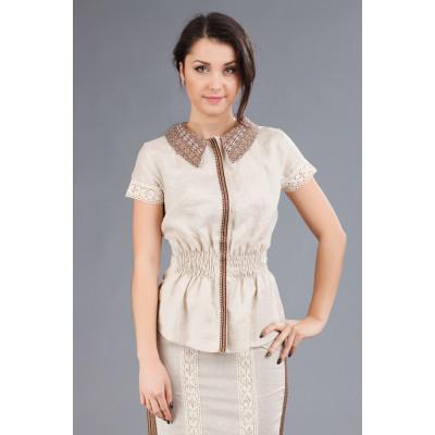 Жіноча блуза-вишиванка