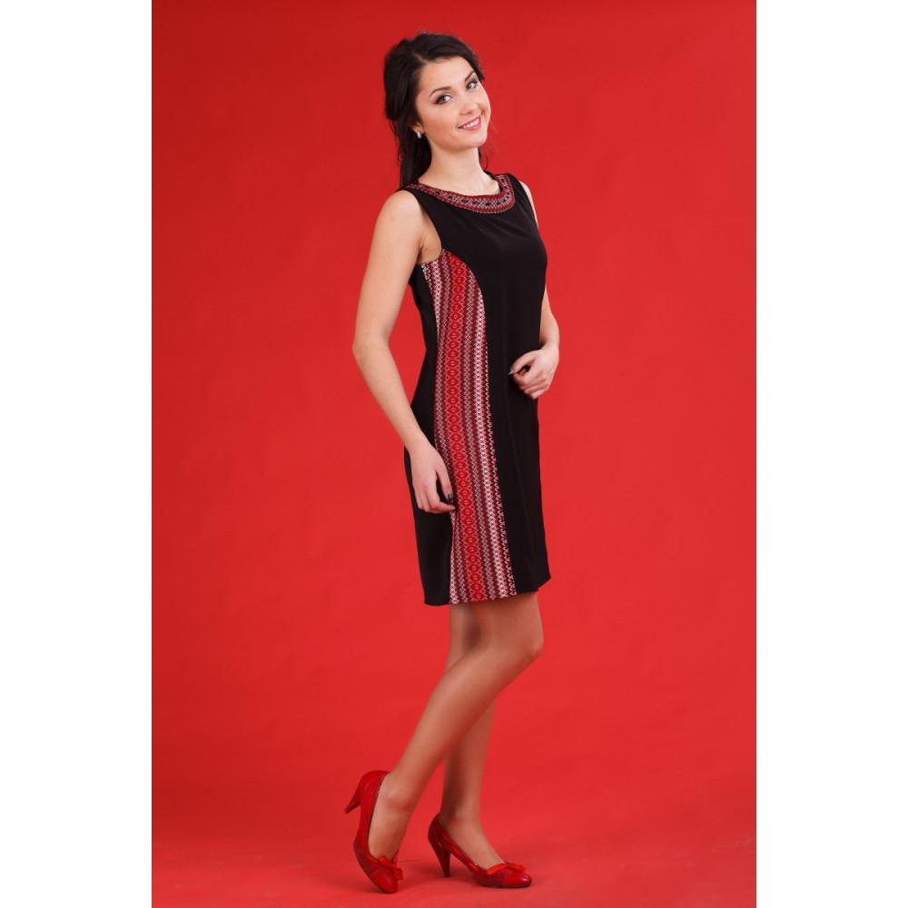 Чорне жіноче плаття в українському стилі - від виробника Magtex ce78058791069