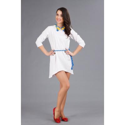 Вишитий міні-плаття