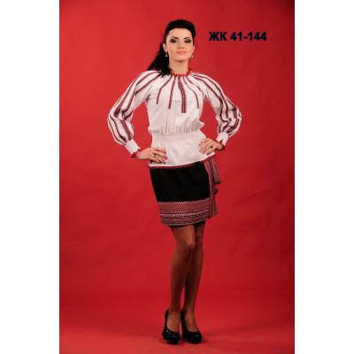 Жіночий вишитий костюм зі спідницею