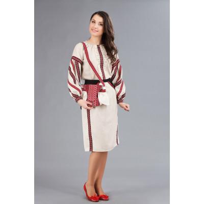 Вишитий костюм для жінок з спідницею