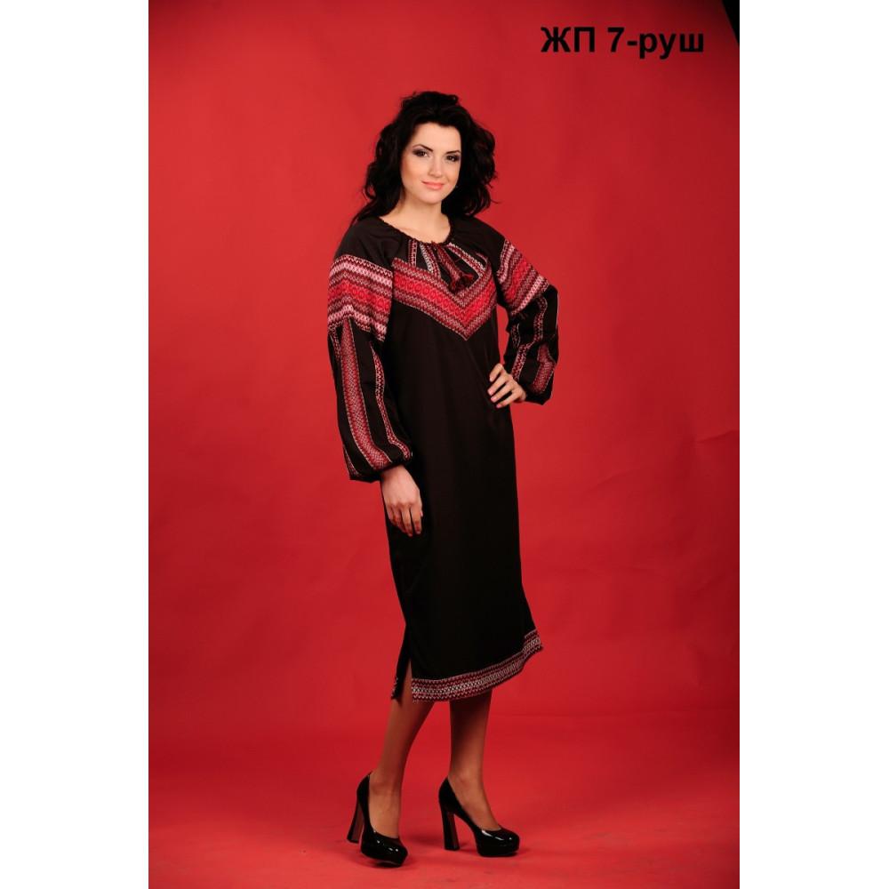 Вишитий жіночий одяг чорного кольору - від виробника Magtex d9bfc797eb623