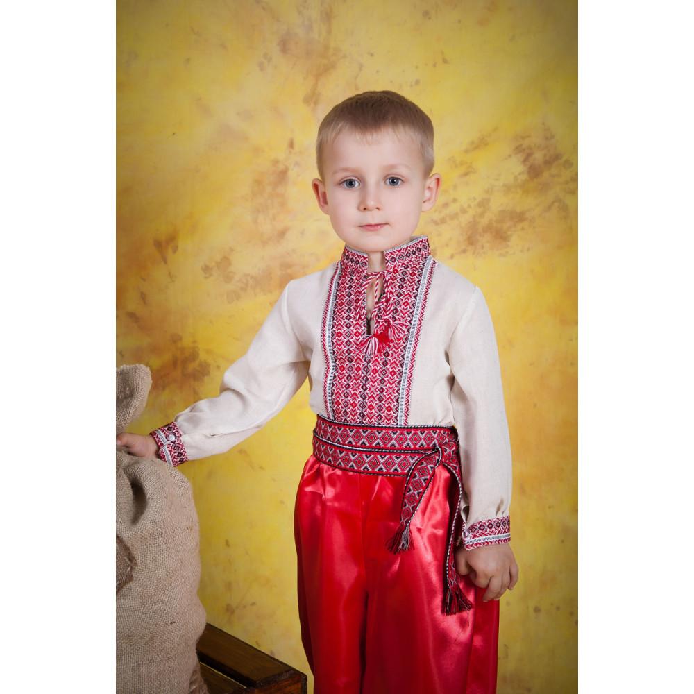 Вишитий дитячий костюм для хлопчика - від виробника Magtex 400464655c11e