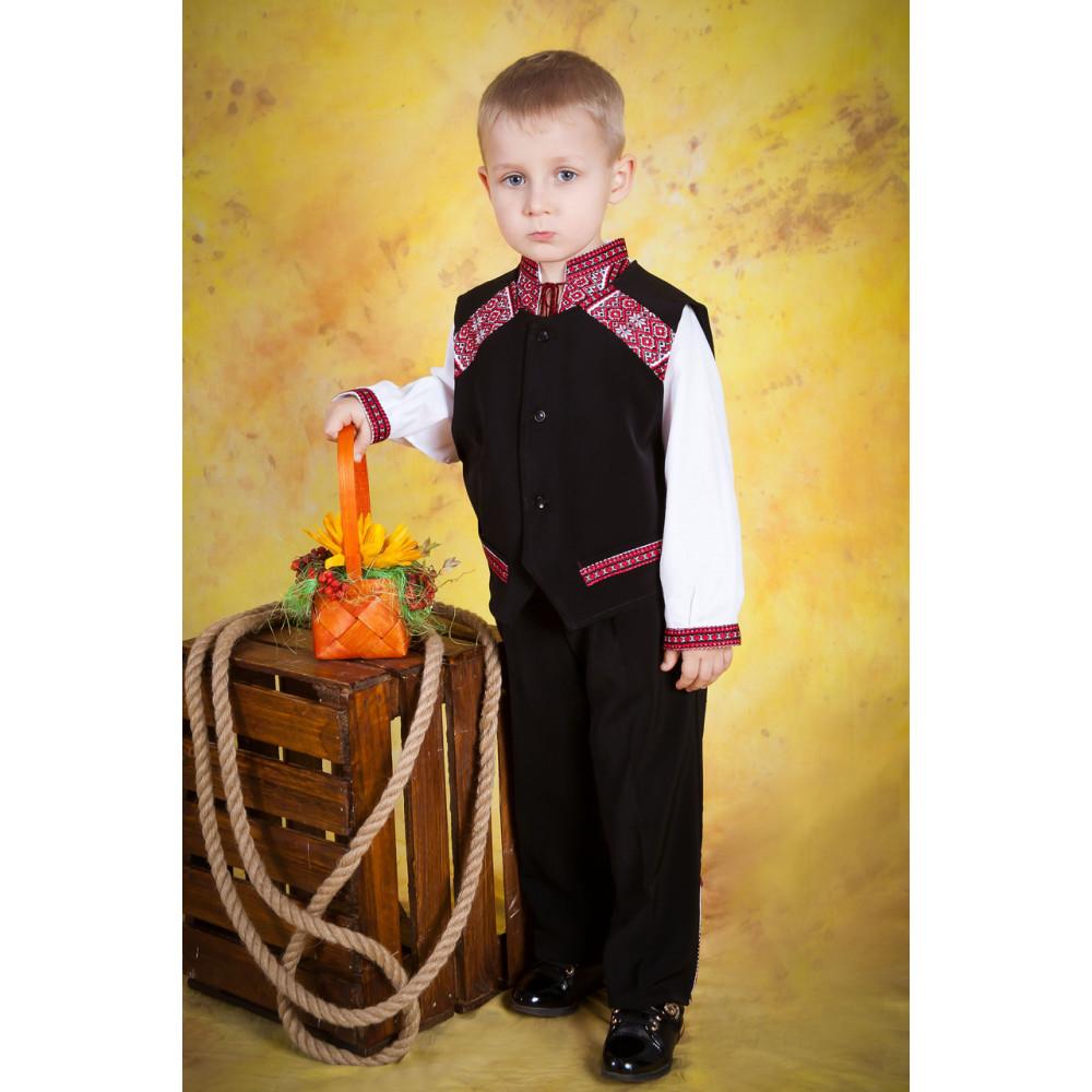 Вишитий костюм для хлопчика - від виробника Magtex e0301246b4f7f