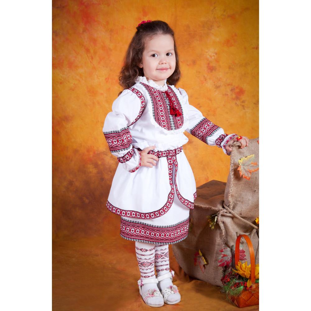 24c3e7733dc135 Український вишитий костюм для дівчинки - від виробника Magtex