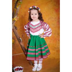 Національний костюм для дівчинки