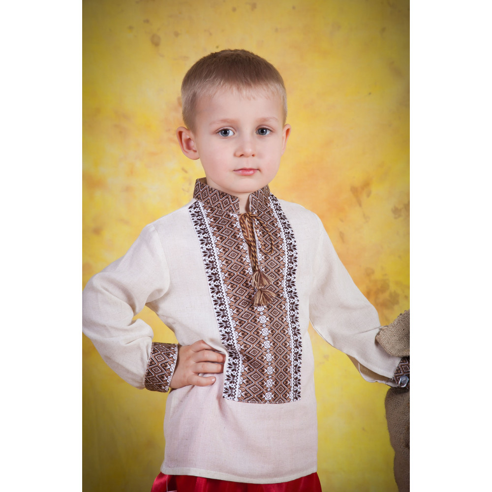 Дитяча вишита сорочка для хлопчика - від виробника Magtex 2be2f6b39d361