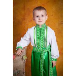 Українська вишита сорочка для хлопчика
