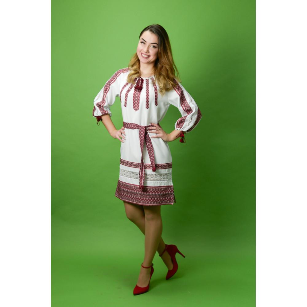 Сукня з вишивкою ЖП-30 - від виробника Magtex 656196f8ddf93