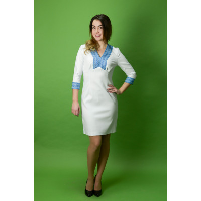Стильне вишите плаття ЖП-35