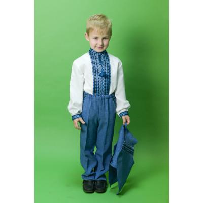 Вишитий дитячий костюм ЧК-14