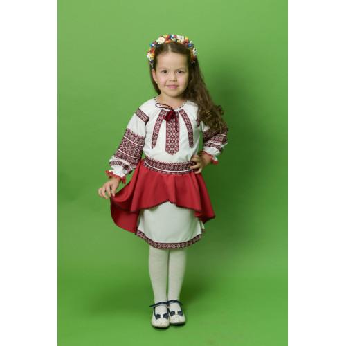 Костюм для дівчинки з вишивкою ДК-19
