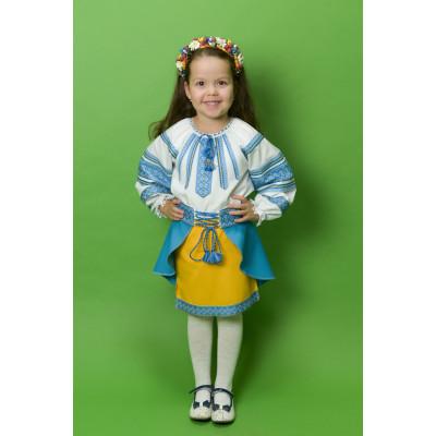 Український костюм для дівчинки ДК-16