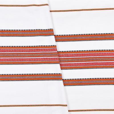 Декоративна тканина вишита національним орнаментом ТД-19 2 \ 1