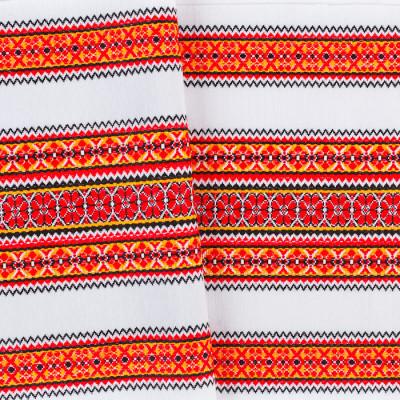 Декоративна красива тканина з національним орнаментом ТД-55 1 \ 1