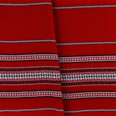 Красива тканину декоративна з національним орнаментом ТД-57 1 \ 1