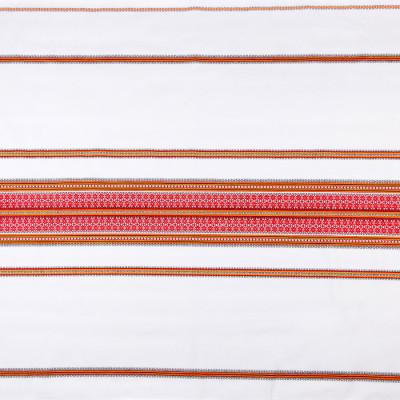 Декоративна красива тканина з українським візерунком ТД-68 2 \ 1