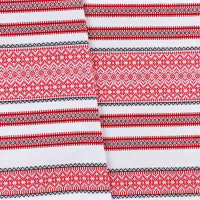 Декоративна красива тканина з орнаментом ТД-72 2 \ 1
