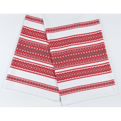 Красива тканину з українським орнаментом ТД-76