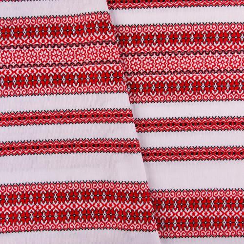 Якісна тканина з національним орнаментом МД-3 (1)