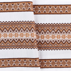 Тканина з національним орнаментом ТД-33 1 \ 3