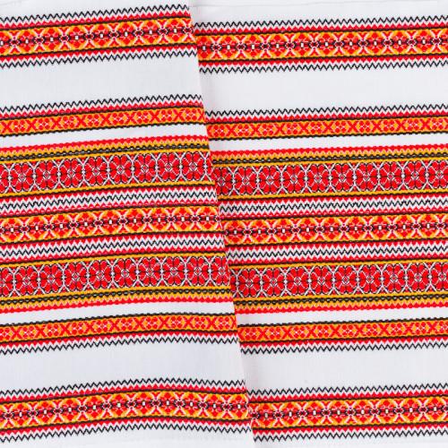 Декоративна красива тканина з національним орнаментом ТД-55 2 \ 1