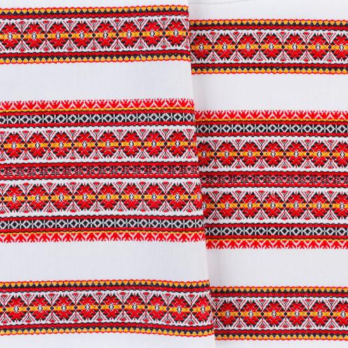 Декоративна красива тканина з національним орнаментом ТД-55 4 \ 1
