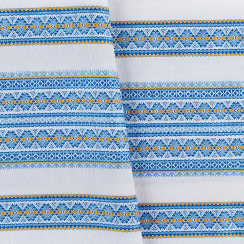 Декоративна красива тканина з національним орнаментом ТД-55 4 \ 2