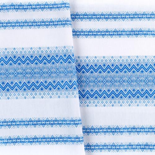 Красива тканину з національним орнаментом ТД-75 2 \ 2