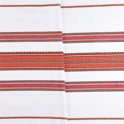 Декоративна тканина вишита національним орнаментом ТД-19