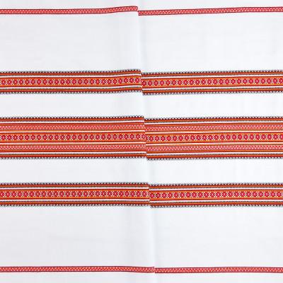 Декоративна тканина вишита національним орнаментом ТД-19 (1)