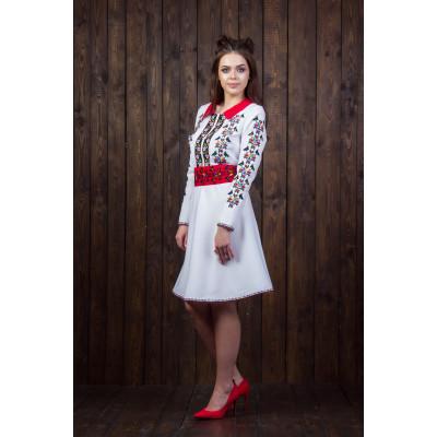 Жіноче плаття з національним орнаментом